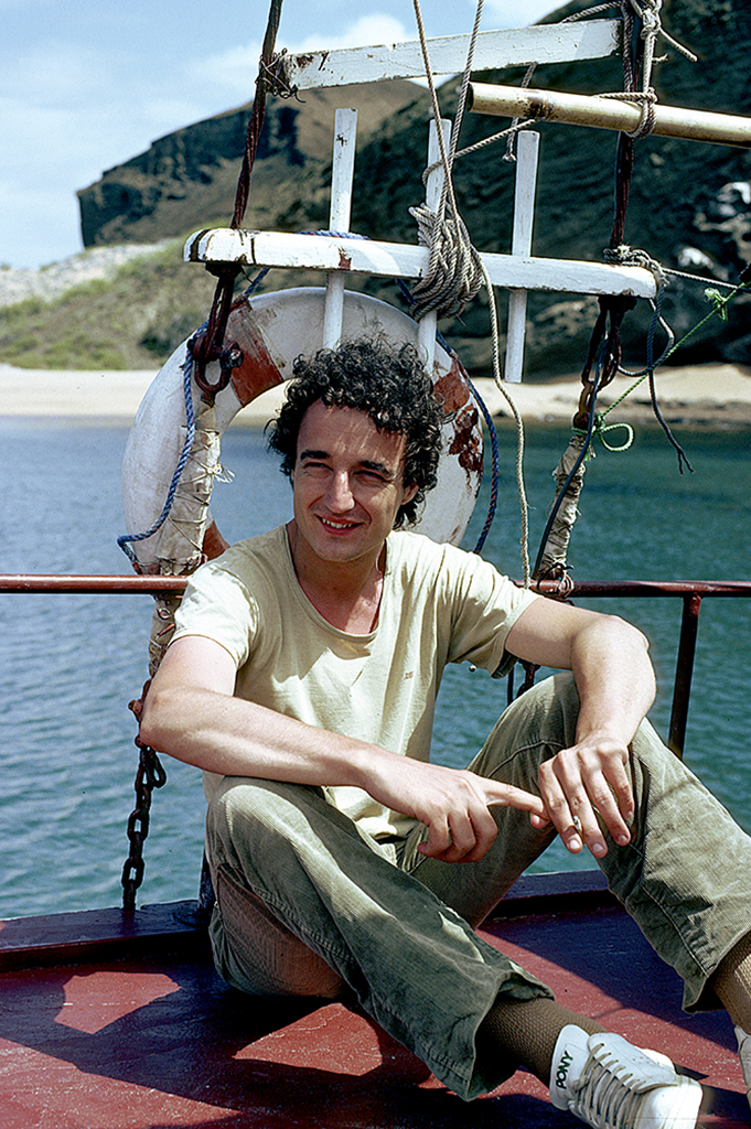 Moi-même sur le petit bateau de croisière