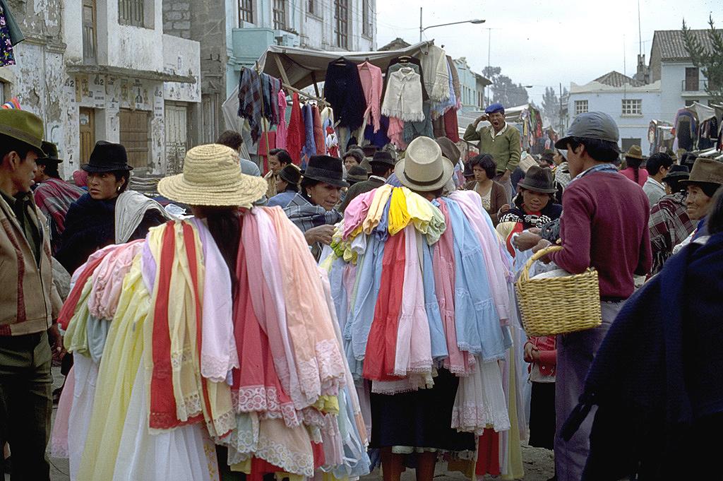 Marché de Saquisili - Équateur