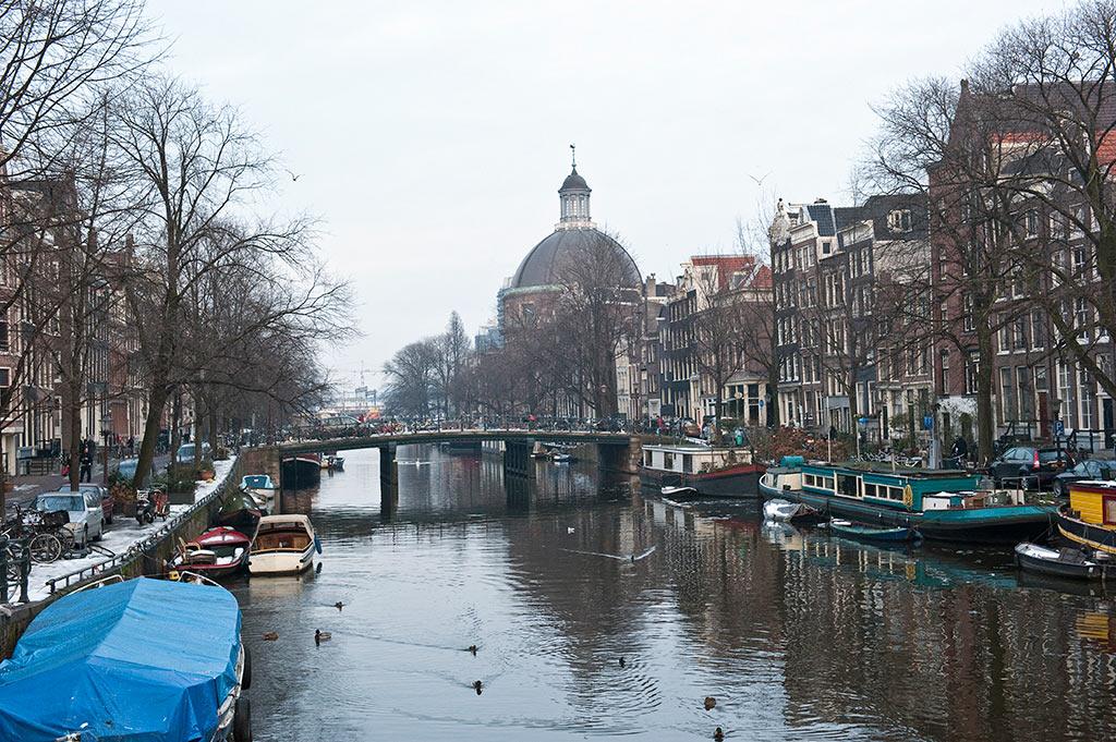 Les canaux d'Amsterdam