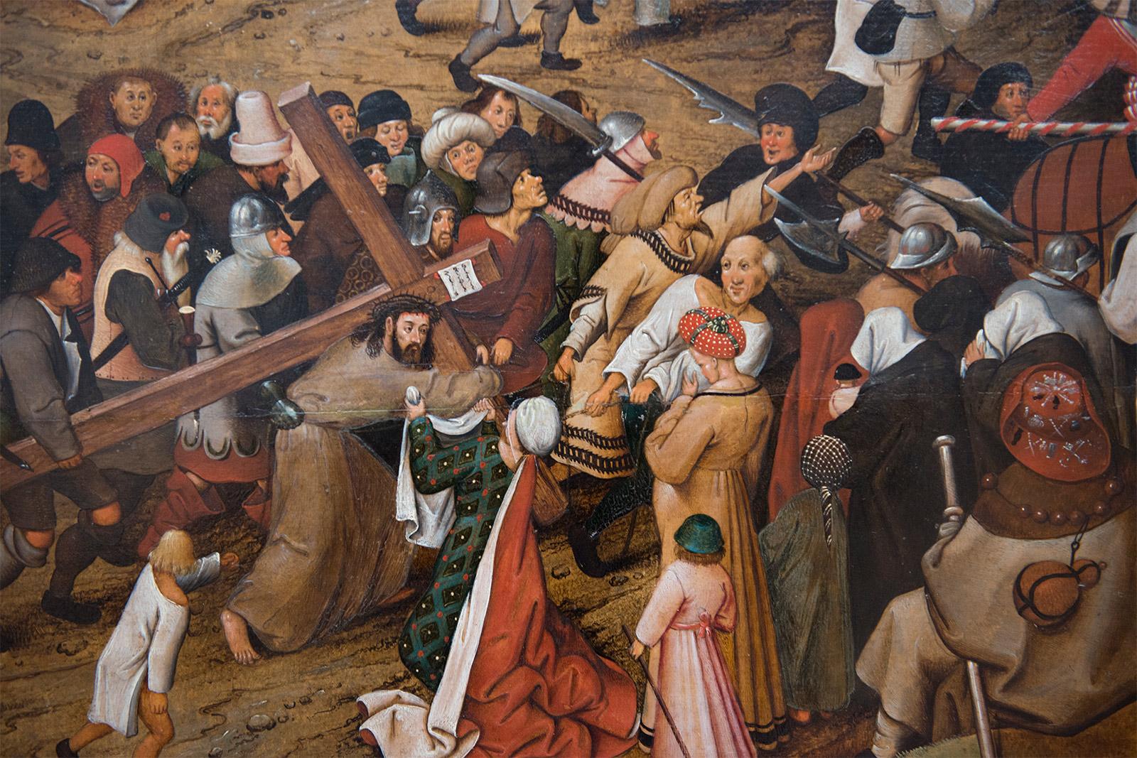 Pierre Brueghel le Jeune (1564-1637/8) - La montée au Calvaire, 1607.