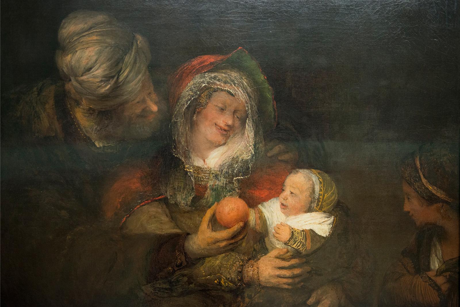 Aert de Gelder (1646-1727) - La sainte famille 1680/83