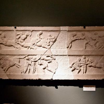 Marbre - Période romaine, 200-300 Av. J.-C. Village de Germiyan. Malkara.