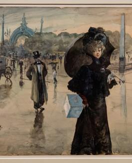 Visite de l'exposition Paris 1900, la Ville spectacle au Petit Palais