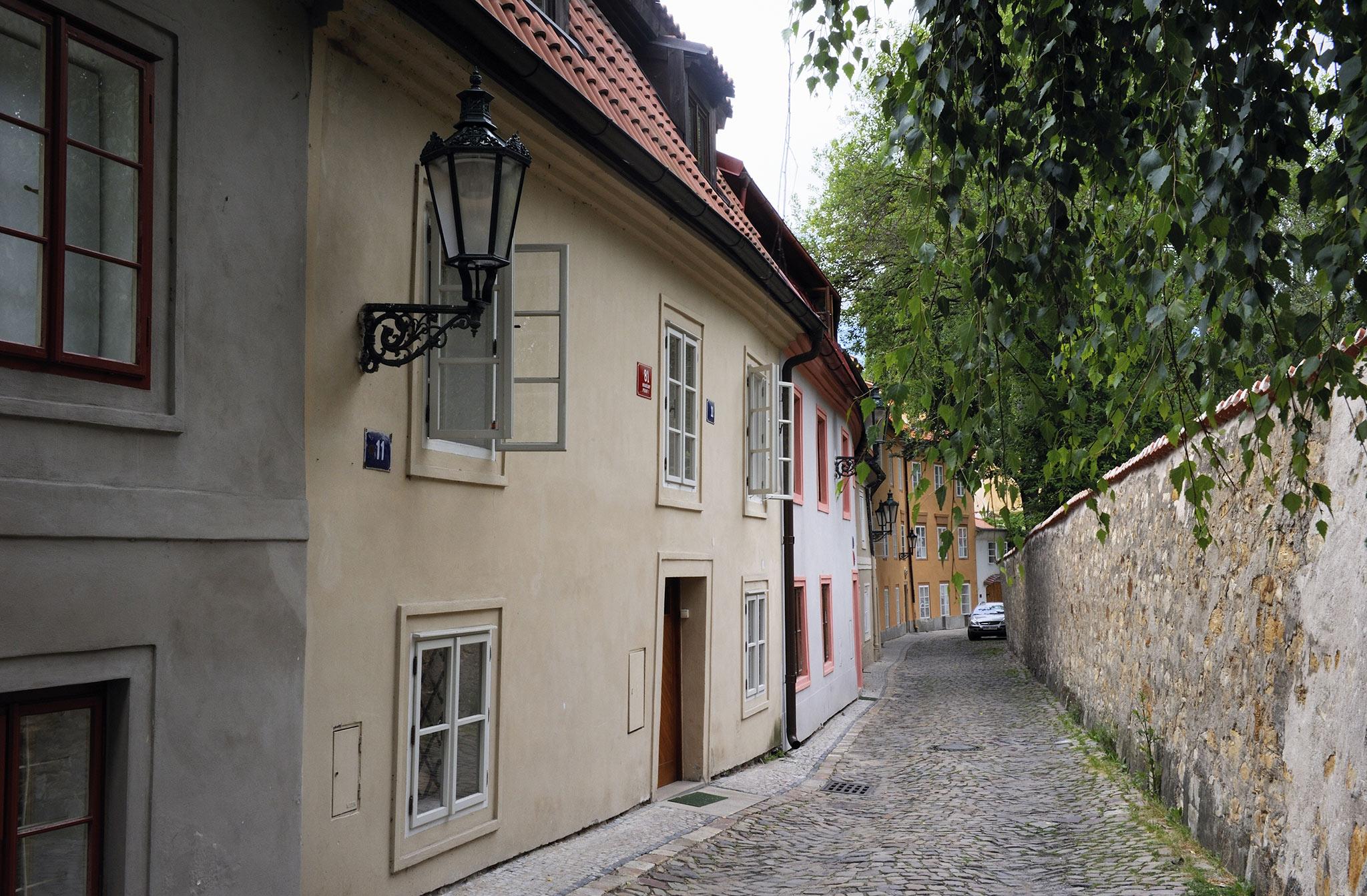 Cerninská Strasse Praha.