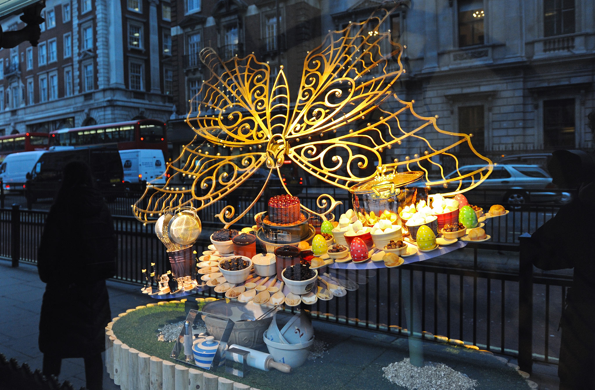 Vitrine d'une boutique de Londres
