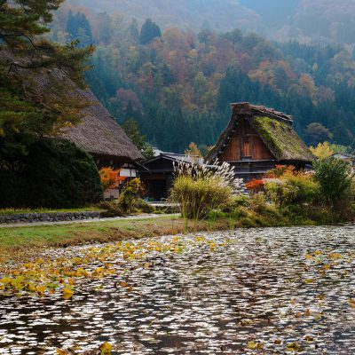 Le village de Shirakawa-go