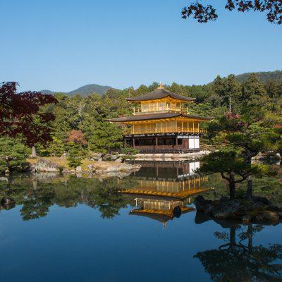 Le temple Kinkaku-ji