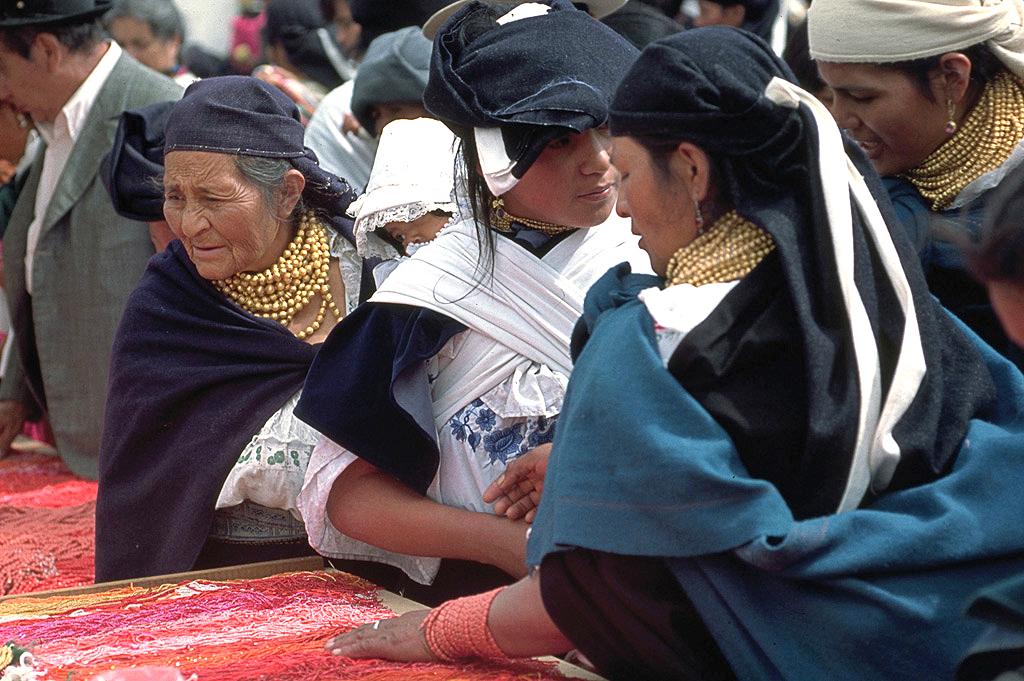 Marché d'Otavalo - Équateur