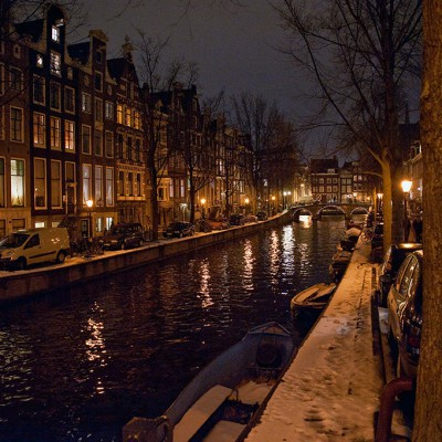 Amsterdam la nuit