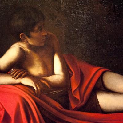 Le Rembrandt House Museum a exposé un Saint Jean-Baptiste allongé, certains auteurs l'attribuent à Caravage. C'est un événement exceptionnel car le tableau, qui appartient à une collection privée, n'est que très rarement visible ; il n'a d'ailleurs été redécouvert qu'en 1976. Mais surtout, les spécialistes s'accordent à dire que le tableau serait la dernière oeuvre de l'artiste.