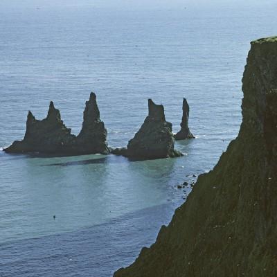 Les rochers de Vik