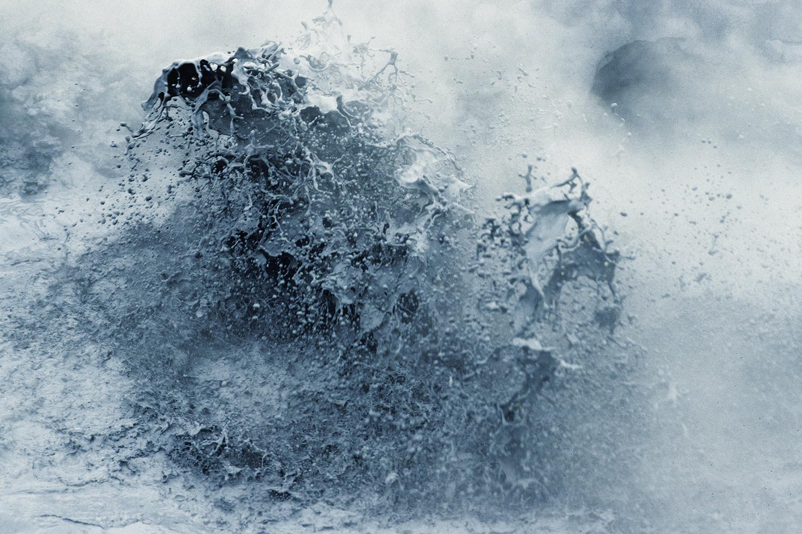 Marmites de boue - Champ géothermique Namafjall - Islande