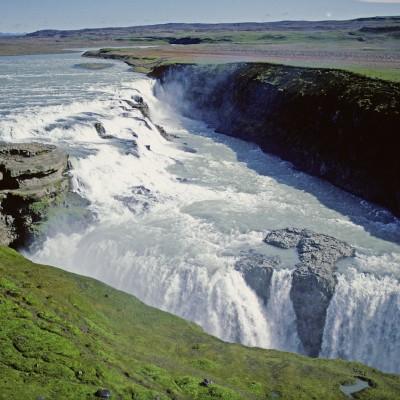 Chutes de Gullfoss Islande 1986