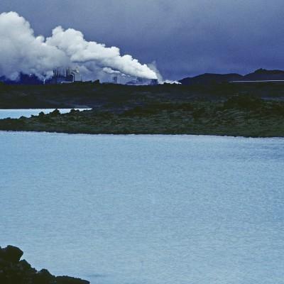 Usine géothermique Blue Lagoon