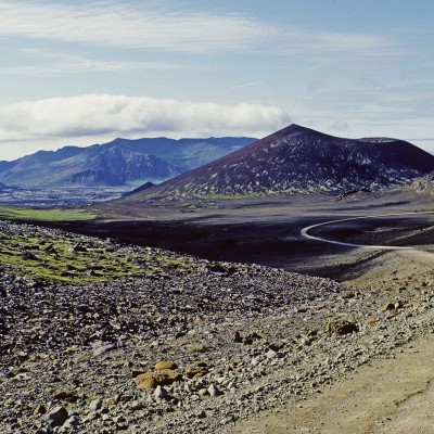 Péninsule Snæfellsnes - Helgafel près de Stykkishôlmur - Islande 1986