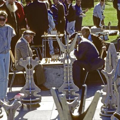 Joueurs d'échecs islandais - Reykjavik