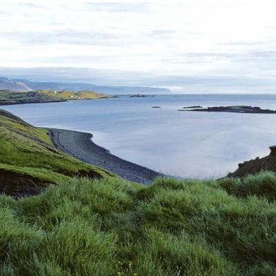 Péninsule de l'ouest Fjord Gilsfjordur prèd de Budardalur