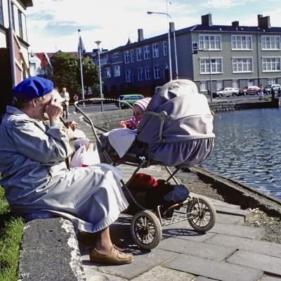 Scène de vie - Reykjavík, 1986