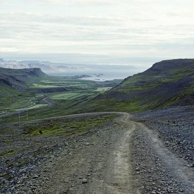 Fjords de l'ouest près de Flókalundur au fond le Brevajordur