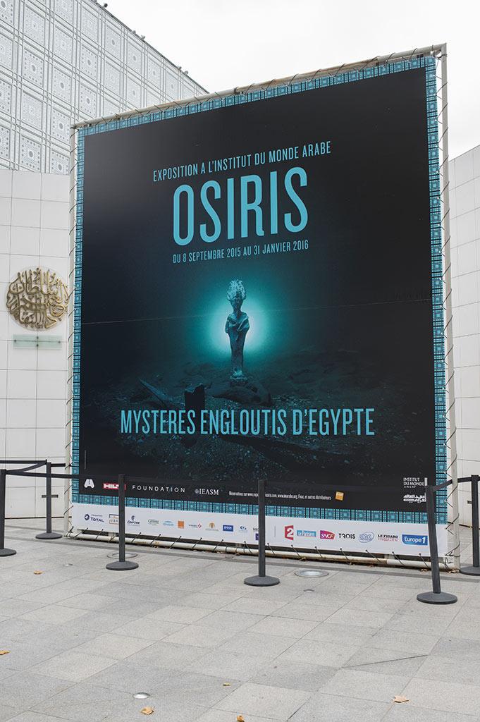Osiris : des photographies de l'exposition