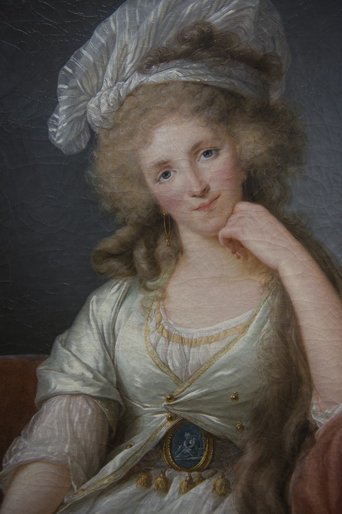 Élizabeth Vigée-Lebrun (Paris, 1755-Paris, 1842) Portrait de la Duchesse d'Orléans vers 1789 huile sur toile