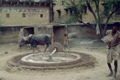 Nawalgarh  province du Shekawati - Rajasthan - Inde 1985