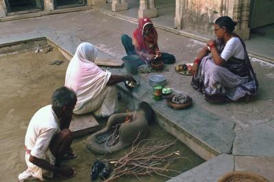 Mandawa province du Shekawati - Rajasthan - Inde 1985