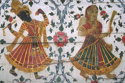 Fort de Junagarh- peintures Rajpoutes Bikaner Rajasthan - Inde