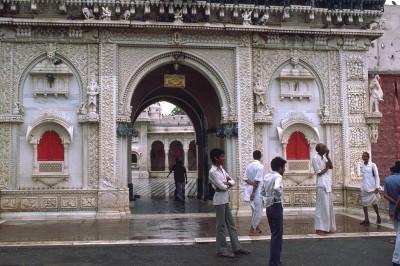Le temple des rats sacrés à Deshnoke  - Rajasthan Inde- 1985