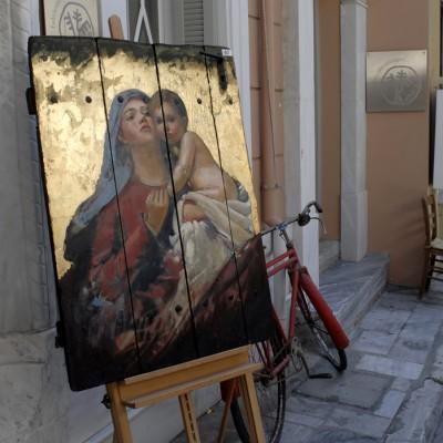 Plaka cœur historique d'Athènes
