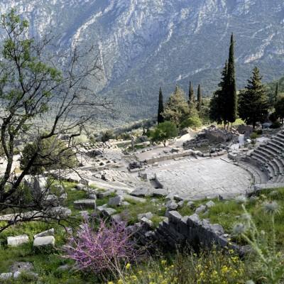 Le théâtre de Delphes