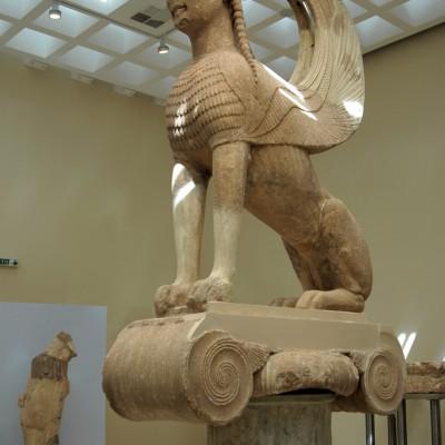 Sphinx des Naxiens - Delphes