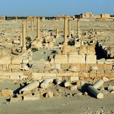 Site de Palmyre - Syrie 2009