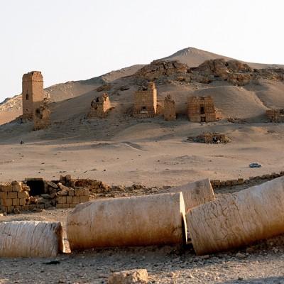 La nécropole de Palmyre - Syrie