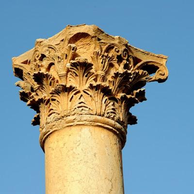 Détail d'un chapiteau corinthien - Palmyre