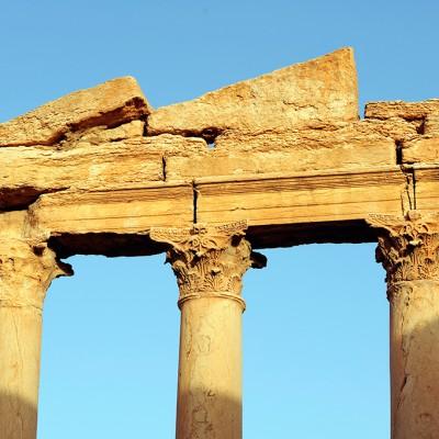 Palmyre : La grande colonnade