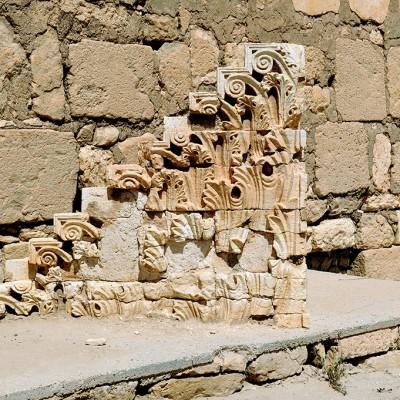 Temple de Bêl - les thermes de Dioclétien - Palmyre - Syrie