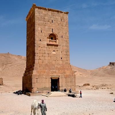 La tour funéraire d'Elahbel - Palmyre Syrie