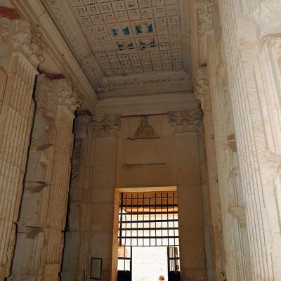 Intérieur de la tour funéraire d'Elahbel - Palmyre