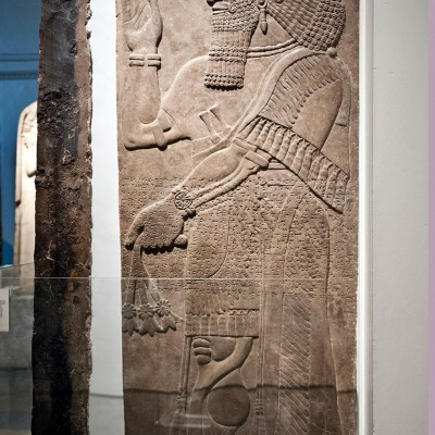 Esprit protecteur - Assyrie, 865-860 av. J.-C. de Nimrud Temple de Ninurta