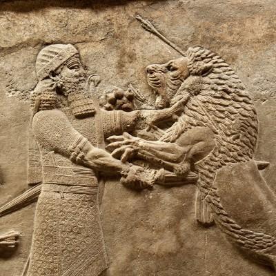 Bas reliefs en plaques murales Assyriens – British Museum