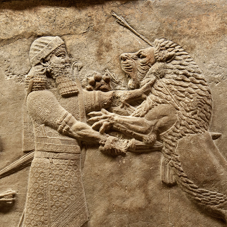 assyriens   bas reliefs - british museum