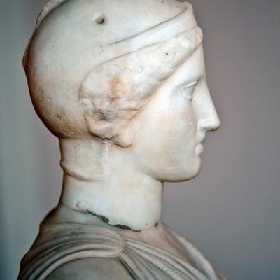 Marbre - Leptis Magna - période romaine ( Copie d'un original à partir de la fin du 5 e siècle avant J.-C.)