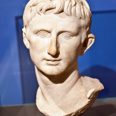 Buste de l'empereur Auguste - Bergame Turquie - Romain 1er siècle AV J.-C.. 1er siècle après J.-C. - Marbre