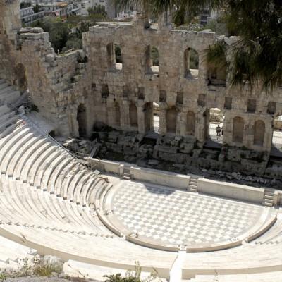 Le Théâtre d'Hérode Atticus - Construit en 161