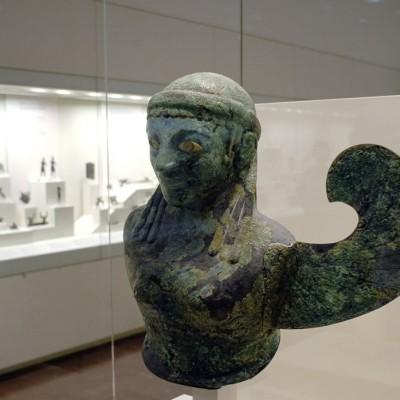 Salle des bronzes - Musée archéologique d'Olympie