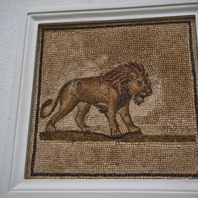 Mosaïque au lion - Musée Archéologique de Séville