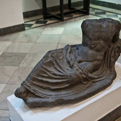 Statue. fontaine - Fontaine de la divinité aquatique domestique - Musée Archéologique de Séville