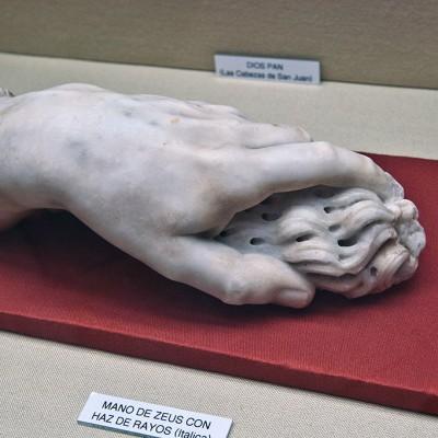 Main de Zeus avec foudre - Musée Archéologique de Séville