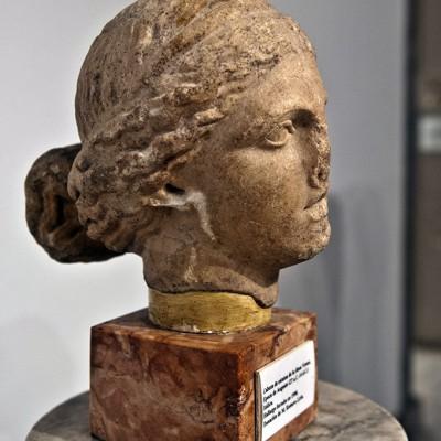 Déesse Venus. Période d'Auguste (27 avant et 14 après J.-C.) Italica. - Musée Archéologique de Séville